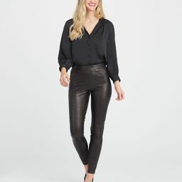 Leather-Like Ankle Skinny Pant   Spanx