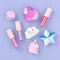 Season's Smile Lip Gloss & Squish Toy Gift Set - 8pc - More Than Magic™ | Target