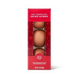 Holiday Hot Cocoa Bombs - 2.25oz / 3pk - Wondershop™ | Target