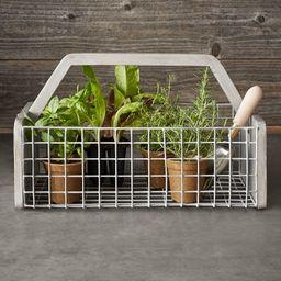 Williams Sonoma Gardening Basket | Williams-Sonoma