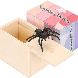 98K Spider Prank Scare Box, Wooden Surprise Box, Handmade Fun Money Gift Box Practical Surprise J... | Amazon (US)