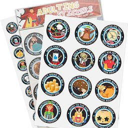 72 Funny Stickers for Adults (Updated) - Adulting Stickers & Adult Achievement Stickers Because A... | Amazon (US)
