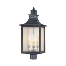 Savoy House Monte Grande Slate Outdoor Post Lantern 5 255 25   Bellacor   Bellacor
