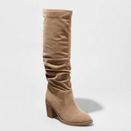 Women's Lainee Heeled Scrunch Fashion Boots - Universal Thread™ | Target