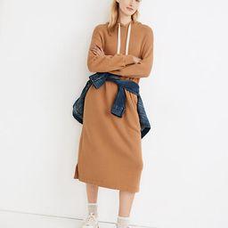 MWL Airyterry Hoodie Sweatshirt Dress | Madewell