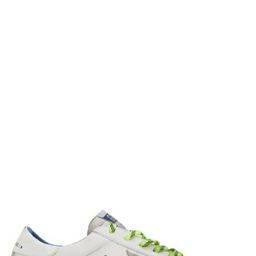 White Fluorescent Superstar Sneakers   SSENSE