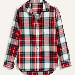 Classic Plaid Flannel Shirt for Women | Old Navy (US)