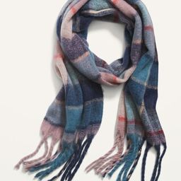 Cozy Soft-Brushed Fringed Scarf for Women | Old Navy (US)