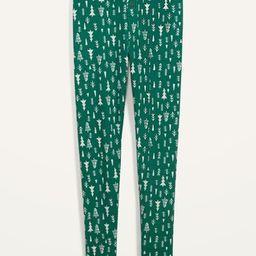 Thermal-Knit Pajama Leggings for Women | Old Navy (US)