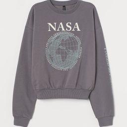 Cotton-blend Sweatshirt   H&M (US)
