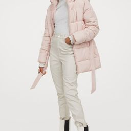 Padded Hooded Jacket   H&M (US)