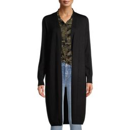 Time and Tru Women's Open Front Duster Cardigan   Walmart (US)