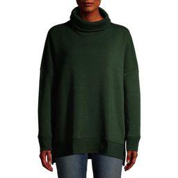 Time and Tru Women's Cowl Neck Tunic Sweatshirt   Walmart (US)