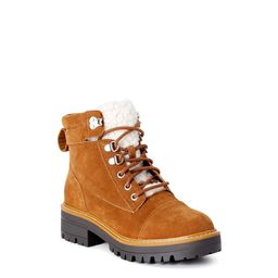 Time and Tru Women's Hiker Boots, Wide Width Available   Walmart (US)