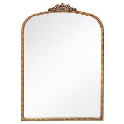 Brigitte Ornate Wall Mirror, Antiqued Gold   One Kings Lane