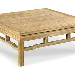 Modern Ming Coffee Table, Limewash   One Kings Lane
