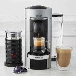 Nespresso VertuoPlus Deluxe Coffee Maker & Espresso Machine by De'Longhi with Aeroccino | Williams-Sonoma