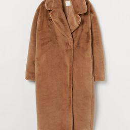Faux Fur Coat   H&M (US)