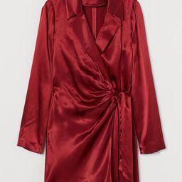 Satin Jacket Dress   H&M (US)