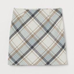 Short Wool-blend Skirt   H&M (US)