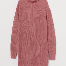 Knit Turtleneck Dress   H&M (US)