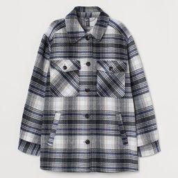 Oversized Shirt Jacket   H&M (US)