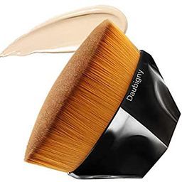 Foundation Makeup Brush Flat Top Kabuki Hexagon Face Blush Liquid Powder Foundation Brush for Ble... | Amazon (US)