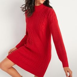 Cozy Textured-Knit Sweater Dress for Women   Old Navy (US)