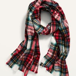 Soft-Brushed Flannel Scarf for Women   Old Navy (US)