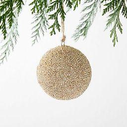 Beaded Ball Ornament | West Elm (US)