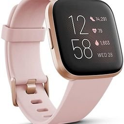 Fitbit Versa 2 Health & Fitness Smartwatch With Heart Rate, Music, Alexa Built-In, Sleep & Swim T... | Amazon (CA)