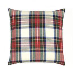 Holiday Tartan Plaid Pillow   Land of Pillows