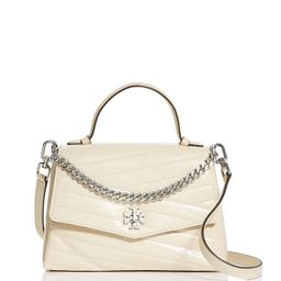 Kira Chevron Leather Satchel Bag | Bloomingdale's (US)