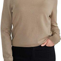 Woolen Bloom Women's Casual Long Sleeve Turtleneck Sweater Lightweight Knit Pullover Jumper Tops ... | Amazon (US)