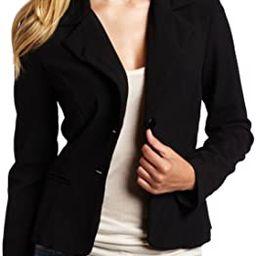 A. Byer Juniors Long Sleeve Button Welt Jacket | Amazon (US)