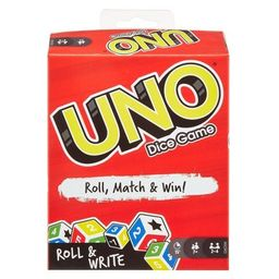 UNO Roll & Write Card Game   Target