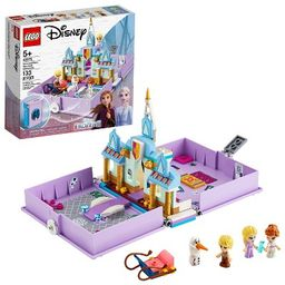 LEGO Disney Anna and Elsa's Storybook Adventures Princess Building Playset 43175 | Target