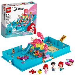 LEGO Disney Ariel's Storybook Adventures Princess Mermaid Building Playset 43176 | Target