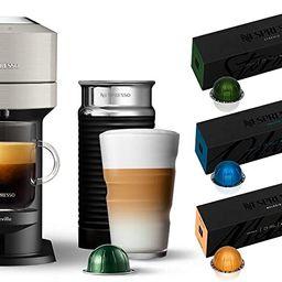Nespresso Vertuo Next Coffee and Espresso Machine with Aeroccino NEW by Breville, Light Grey and ... | Amazon (US)
