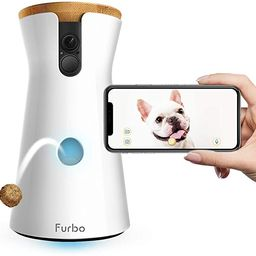 Furbo Dog Camera: Treat Tossing, Full HD Wifi Pet Camera and 2-Way Audio, Designed for Dogs, Comp... | Amazon (US)