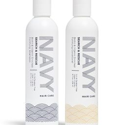 Search & Rescue - Shampoo and Conditioner   NAVY Hair Care