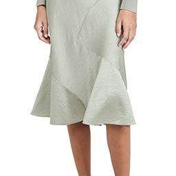 Seamed Slip Skirt   Shopbop