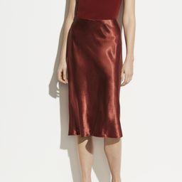 Satin Slip Skirt   Vince LLC