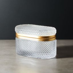 Buchannon Clear Jewelry Holder + Reviews | CB2 | CB2