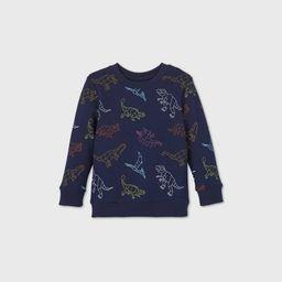 Toddler Boys' Fleece Crew Neck Sweatshirt - Cat & Jack™ | Target