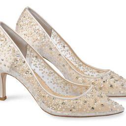 Evening & Wedding Shoes Gold Kitten Heels | Bella Belle Shoes