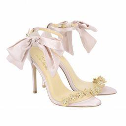 Blush Bow Evening/Wedding Heel by Liv Hart | Bella Belle Shoes