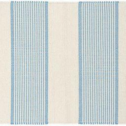 La Mirada Handwoven Rug, Asiatic Blue | One Kings Lane