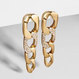 Michel Curb Chain Drop Earrings | BaubleBar (US)