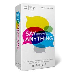 Say Anything 10th Anniversary Board Game   Target